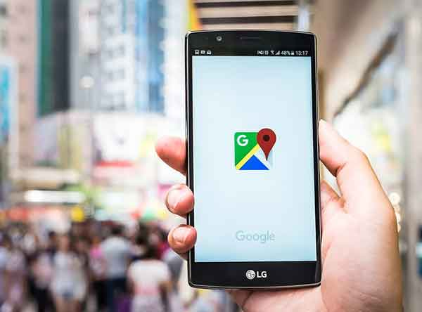 обновить карты Google