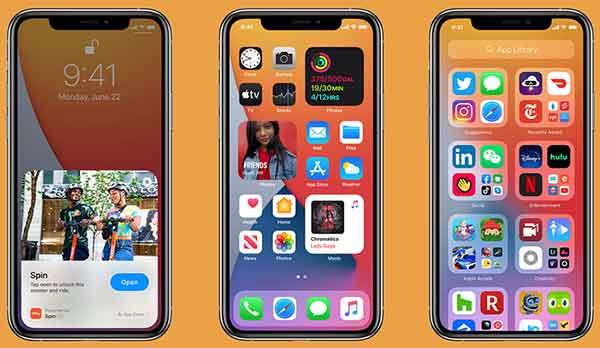aggiornare iPhone a iOS 15