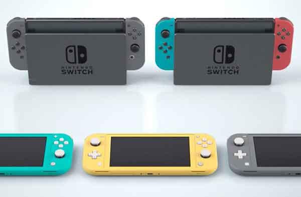подключите гарнитуру или контроллер к Nintendo Switch
