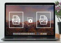 convertire screenshot in PDF e JPG su Mac
