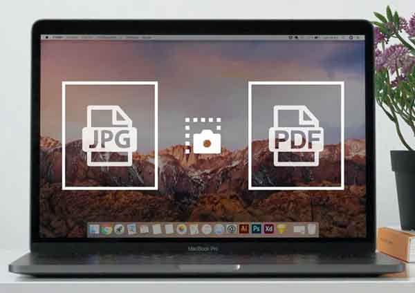 конвертировать снимок экрана в PDF и JPG на Mac