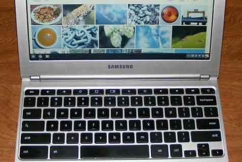 скопировать и вставить в Chromebook