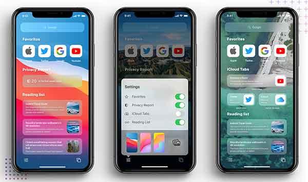 создавать группы вкладок в Safari на iPhone