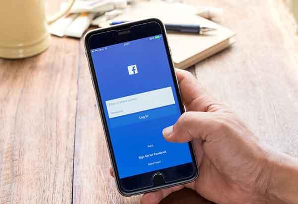 отключить Facebook на iPhone