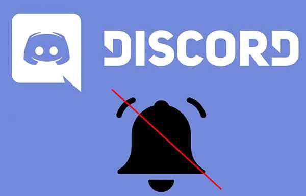 отключить уведомления Discord