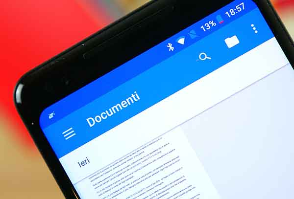 сохранить изменения в Google Документах