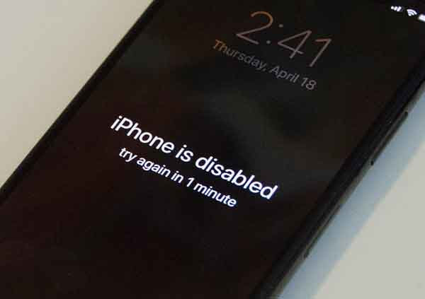 разблокировать айфон